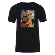 Desus & Mero Bodega Boys Wear A Mask Adult Short Sleeve T-Shirt