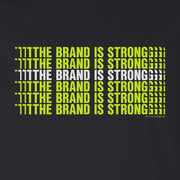 Desus & Mero The Brand is Strong Stacked Adult Long Sleeve T-Shirt