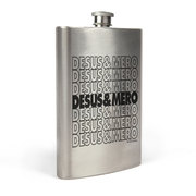 Desus & Mero Repeat Logo Stainless Steel Flask