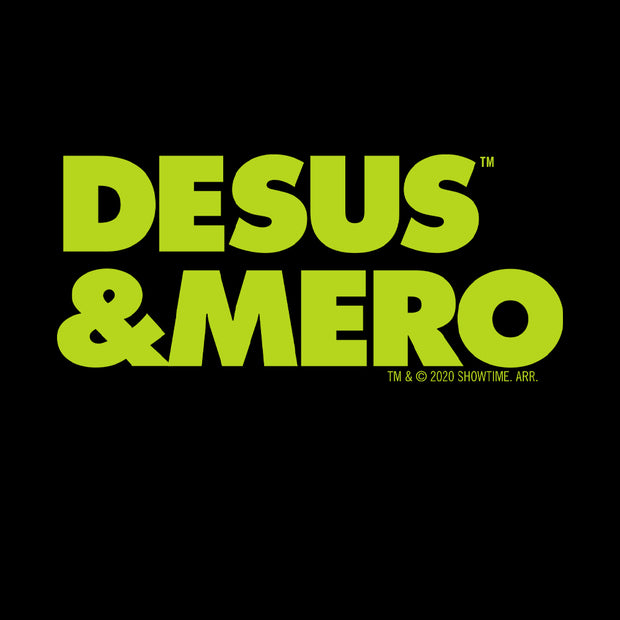 Desus & Mero Neon Logo Adult Long Sleeve T-Shirt