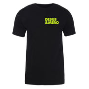 Desus & Mero Neon Logo Adult Short Sleeve T-Shirt