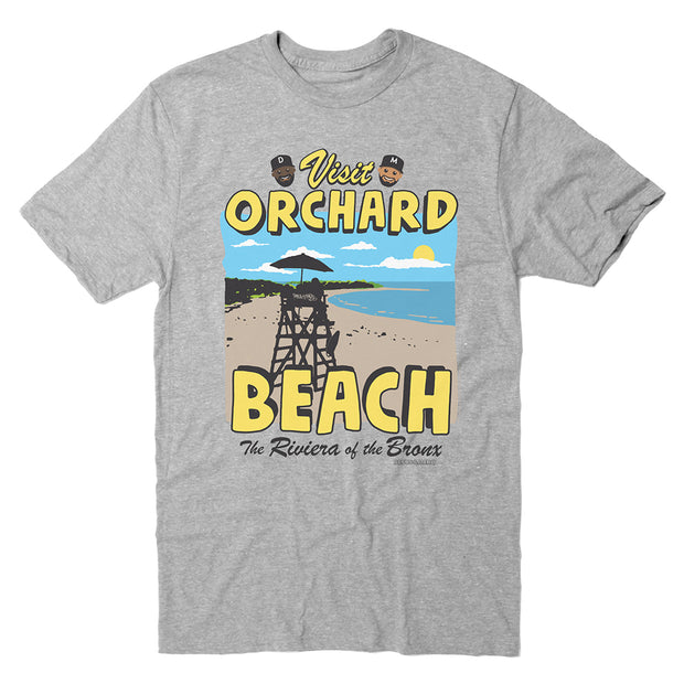 Desus & Mero Emoji Orchard Beach Adult Short Sleeve T-Shirt