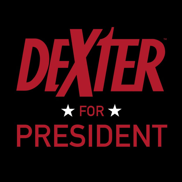 Dexter For President 11 oz Black Mug