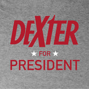 Dexter For President Women's Tri-Blend Dolman T-Shirt