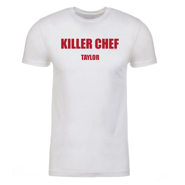 Dexter Killer Chef Personalized Adult Short Sleeve T-Shirt
