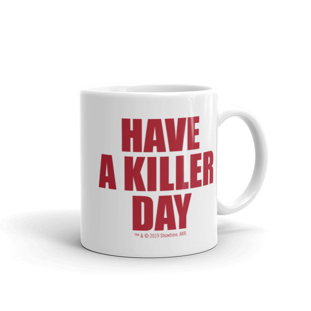 Dexter Killer Day Personalized White Mug