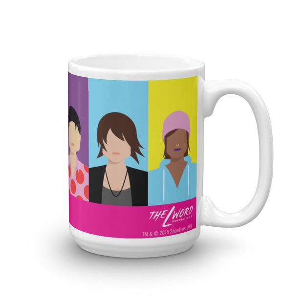 The L Word: Generation Q Horizontal Faces White Mug