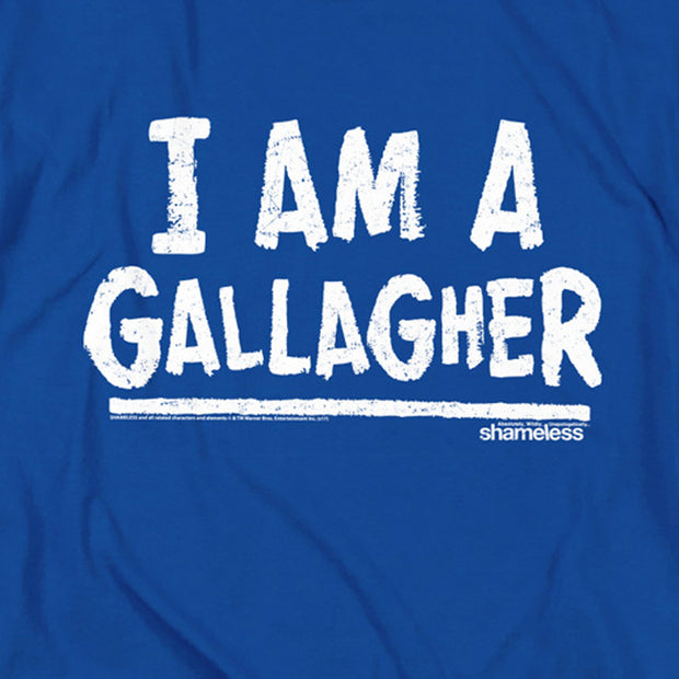 Shameless I am a Gallagher Adult Short Sleeve T-Shirt