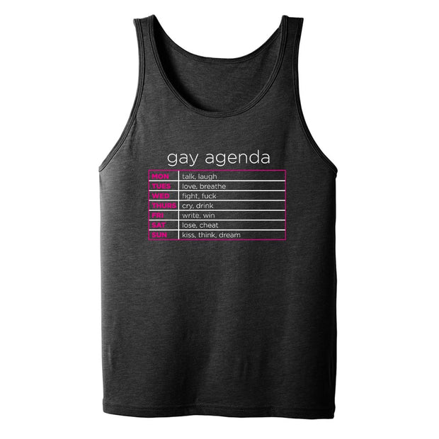The L Word Gay Agenda Adult Tank Top