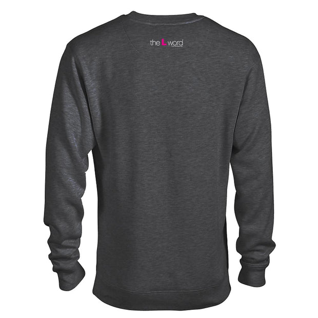 The L Word Nipple Confidence Fleece Crewneck Sweatshirt
