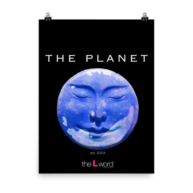 The L Word The Planet Premium Satin Poster