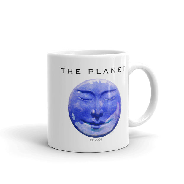 The L Word The Planet White Mug