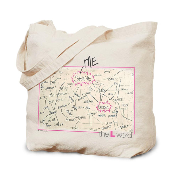 The L Word The Chart Canvas Tote