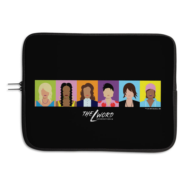 The L Word: Generation Q Horizontal Faces Laptop Sleeve
