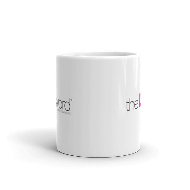 The L Word Logo White Mug