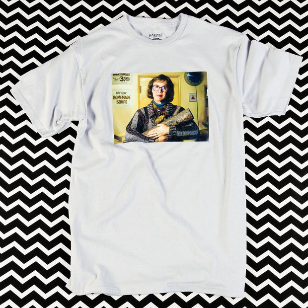 Twin Peaks Log Lady Portrait Adult Short Sleeve T-Shirt