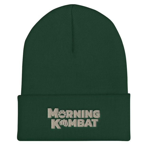 Morning Kombat Logo Embroidered Beanie