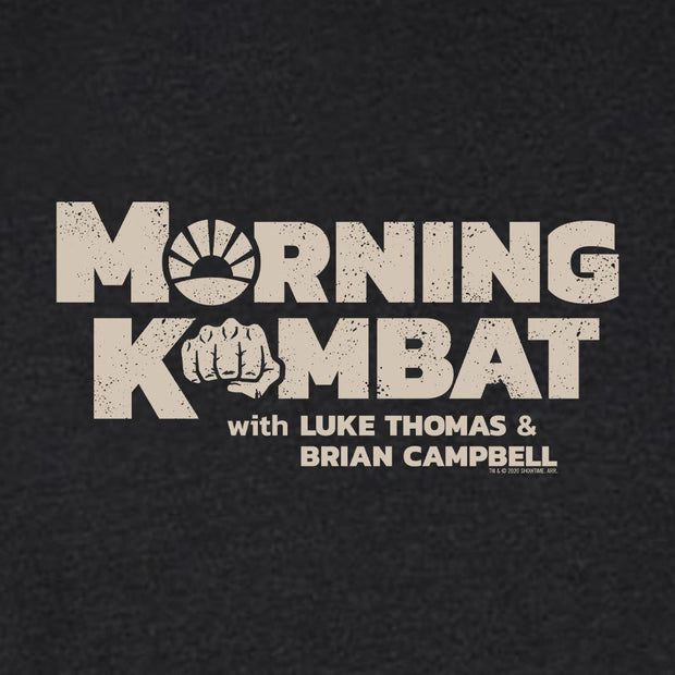Morning Kombat Logo with Names Men's Tri-Blend T-Shirt