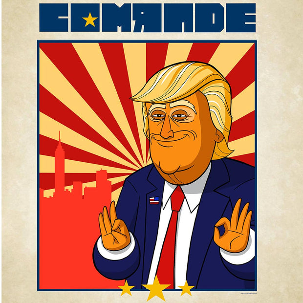 "Our Cartoon President Comrade Premium Poster - 18"" x 24"""