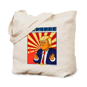 Our Cartoon President Comrade Canvas Tote Bag