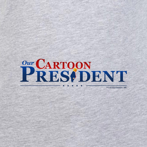 Our Cartoon President Logo Adult Short Sleeve T-Shirt