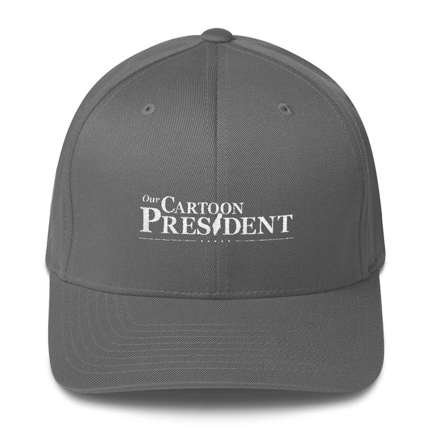 Our Cartoon President Logo Embroidered Hat