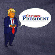 Our Cartoon President Tweet Lightweight Hooded Sweatshirt