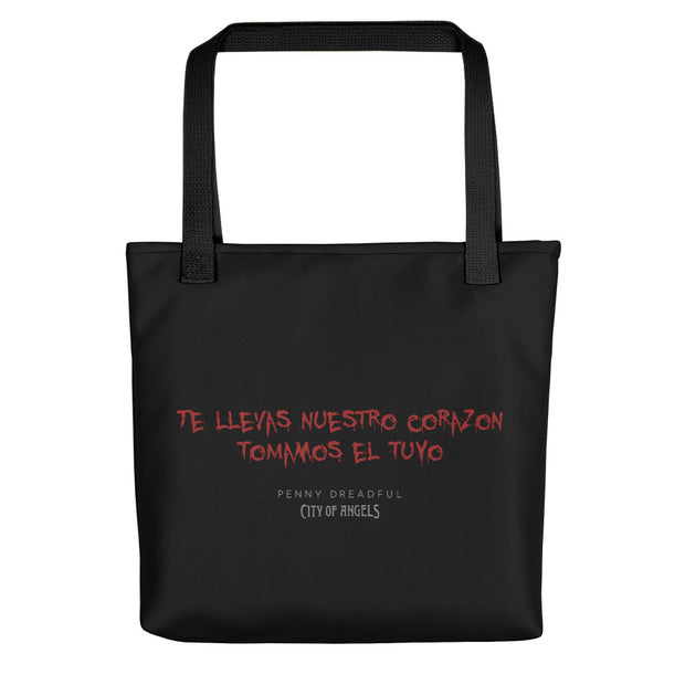 Penny Dreadful: City of Angels Blood Writing Premium Tote Bag