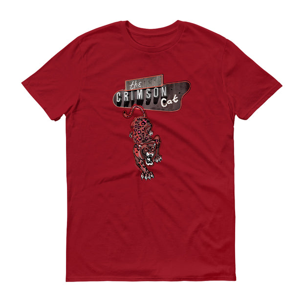 Penny Dreadful: City of Angels Crimson Cat Adult Short Sleeve T-Shirt