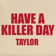 Dexter Killer Day Personalized Canvas Tote Bag
