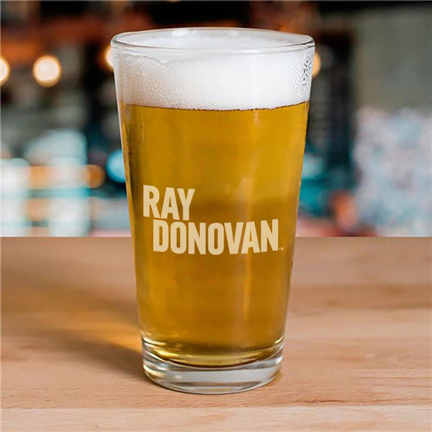 Ray Donovan Logo 16 oz Laser Engraved Pint Glass