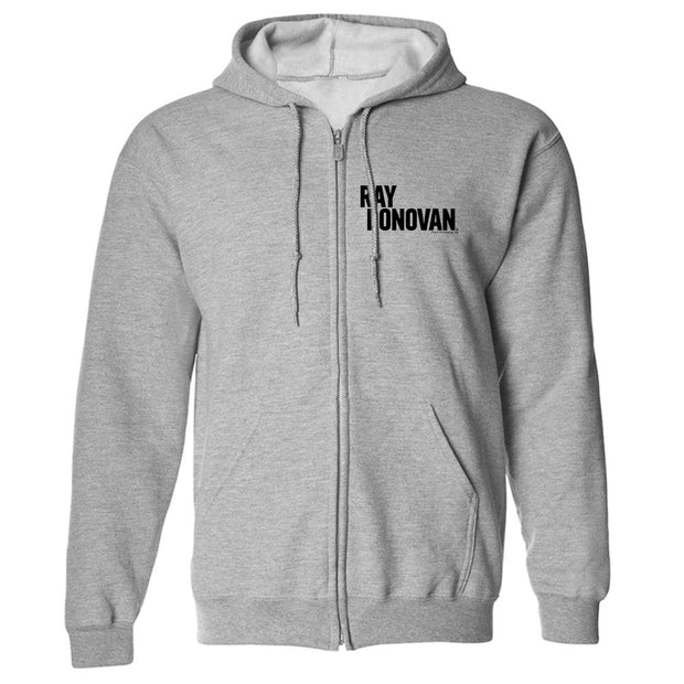 Ray Donovan Logo Fleece Zip-Up Hooded Sweatshirt