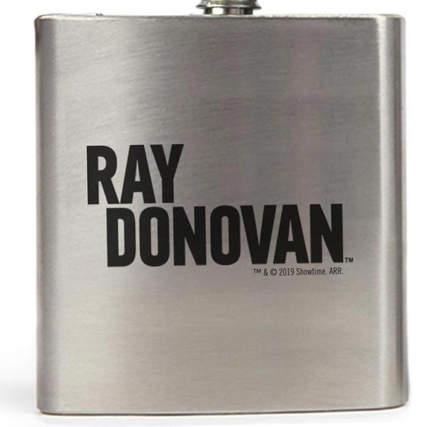 Ray Donovan Logo Stainless Steel Flask