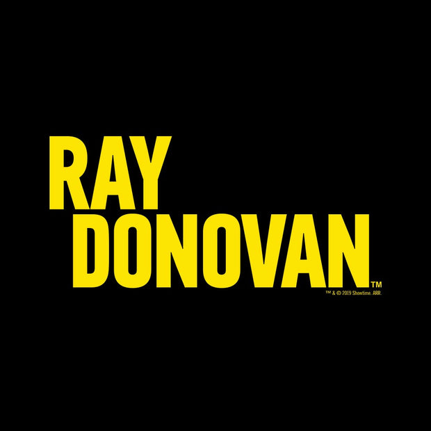 Ray Donovan Yellow Logo Adult Short Sleeve T-Shirt