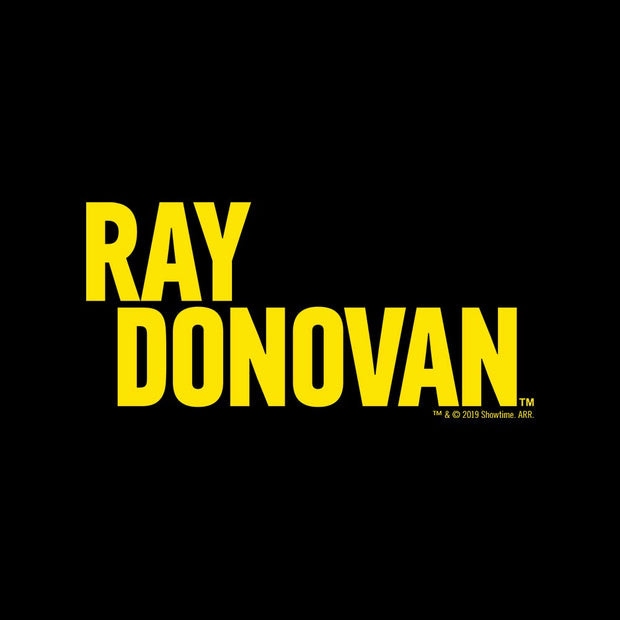 Ray Donovan Yellow Logo Women's Relaxed V-Neck T-Shirt