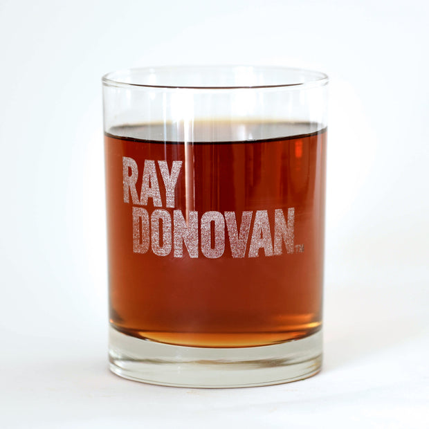Ray Donovan Logo Laser Engraved Rocks Glass