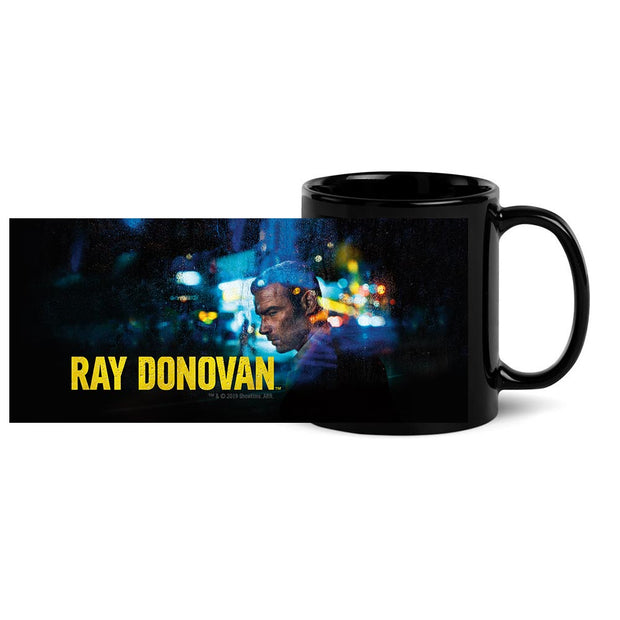 Ray Donovan Season 7 Art Black Mug
