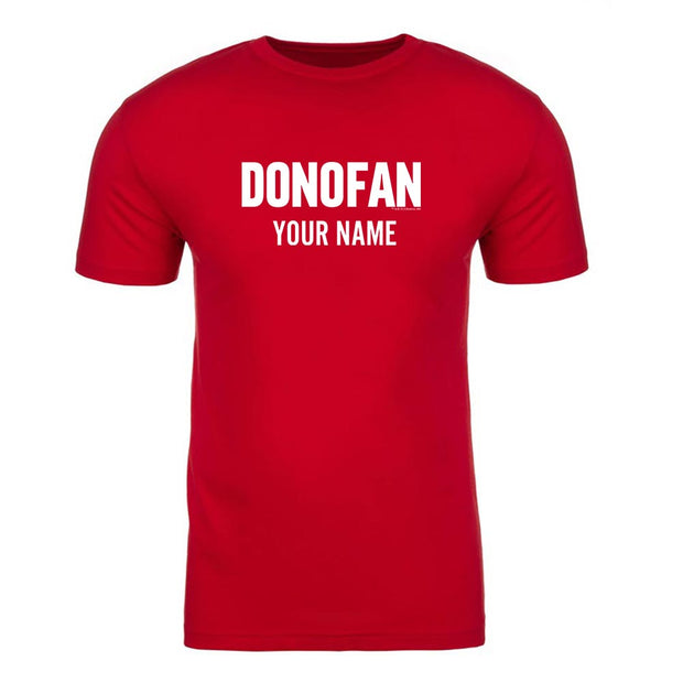 Ray Donovan Donofan Personalized Adult Short Sleeve T-Shirt