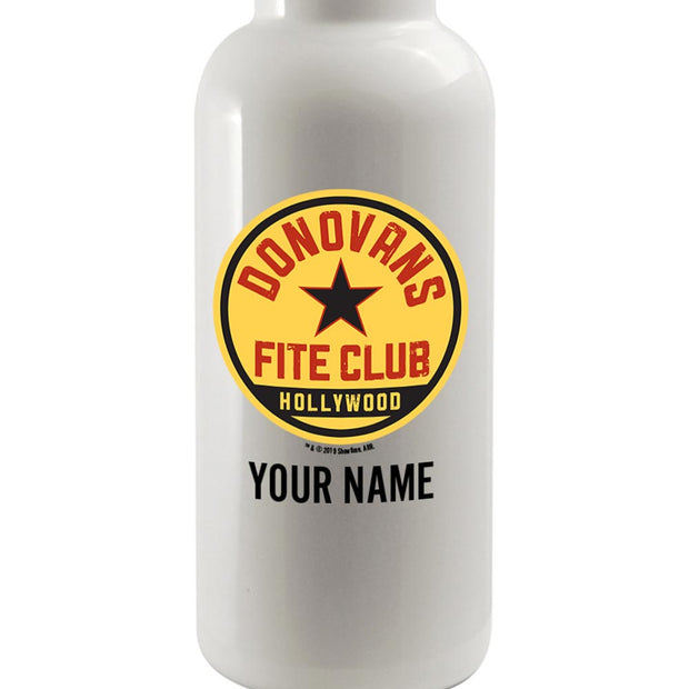 Ray Donovan Personalized Donovan's Fite Club 20 oz Screw Top Water Bottle with Straw