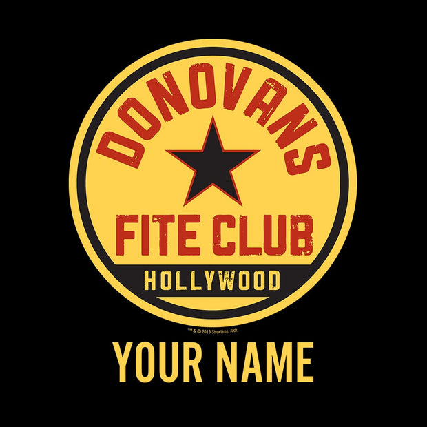 Ray Donovan Personalized Donovan's Fite Club Women's Racerback Tank Top