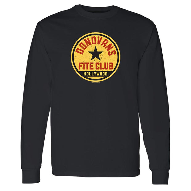 Ray Donovan Fite Club Distressed Logo Adult Long Sleeve T-Shirt
