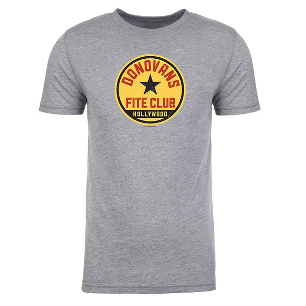 Rav Donovan Fite Club Distressed Logo Men's Tri-Blend T-Shirt