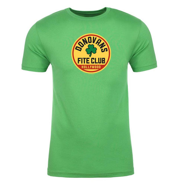 Rav Donovan Fite Club Clover Adult Short Sleeve T-Shirt