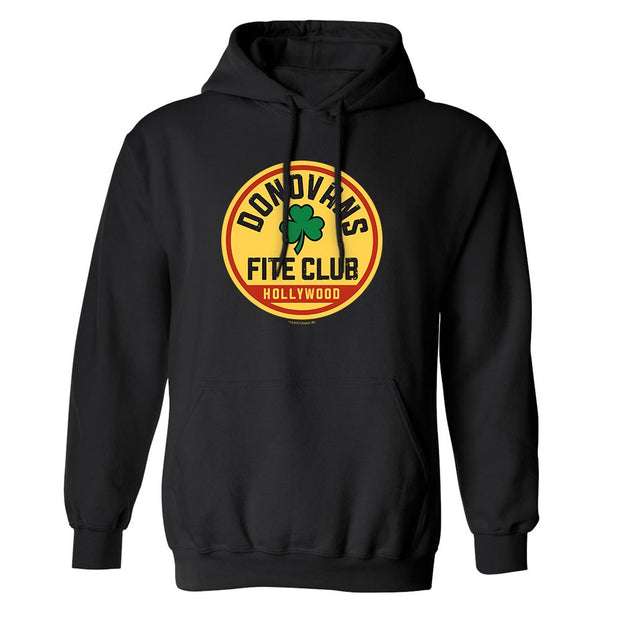 Rav Donovan Fite Club Clover Fleece Hooded Sweatshirt