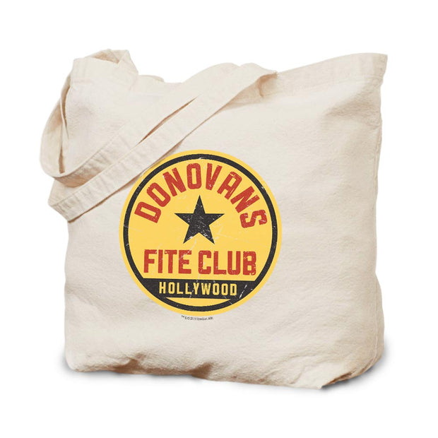 Ray Donovan Fite Club Distressed Logo Canvas Tote Bag