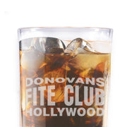 Ray Donovan Donovan's Fite Club Rocks Glass