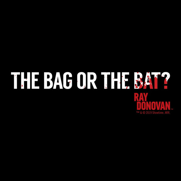 Rav Donovan The Bag or the Bat? Women's Tri-Blend T-Shirt