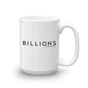 Billions Get With it or Get F*cked White Mug