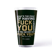 Billions What's the Point 17 oz Pint Glass