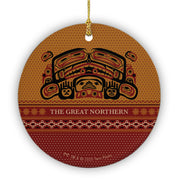 Twin Peaks The Great Northern Hotel Round Ceramic Ornament